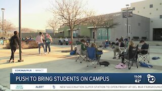 Del Norte High students push for reopening