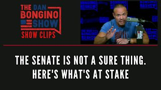 The Senate Is Not A Sure Thing. Here's What's At Stake - Dan Bongino Show Clips