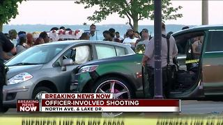 Two injured in officer-involved shooting along Milwaukee's lakefront