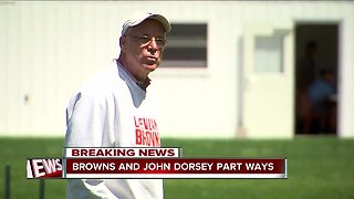 John Dorsey out as Browns General Manager