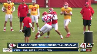 Competition has already started at Chiefs Camp - Video