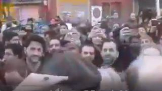 Iran Rafsanjani death: Huge crowds at ex-president's funeral - Video
