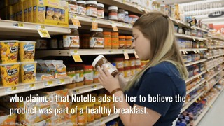 Outraged Mom Faces Off With Nutella - Video