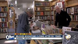 Beloved book store closing after 53 years - Video