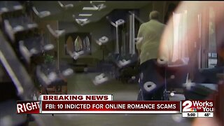 Romance Scam Indictments
