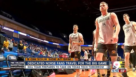 Norse fans travel to Tulsa for NKU game