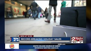 Record-breaking holiday sales