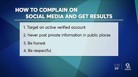 How to complain on social media and get results