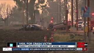Family and friends honoring memory of Angel Mulley