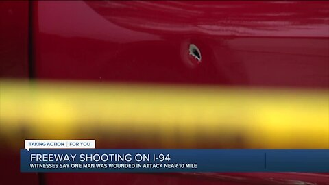 Police investigating shooting on I-94