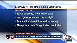 Keeping families safe from guns - Video