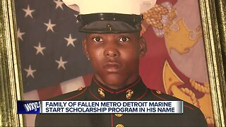 Parents of murdered local US Marine launch nursing scholarship campaign to keep his memory alive