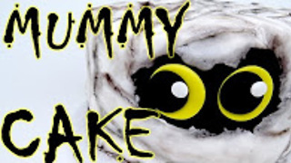 How-to make a Halloween mummy cake - Video