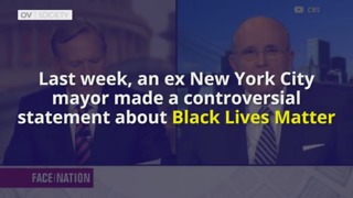 Ex New York Mayor Makes Contentious Statements About Racism - Video