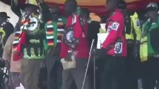 Video Shows Moment of Blast on Stage at Zimbabwe President's Rally - Video