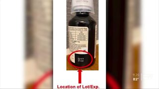Children's cough syrup recalled due to possible overdose risk