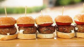 Turkey Caprese Sliders - Video
