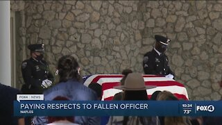 Southwest Florida pays respects to fallen Naples officer