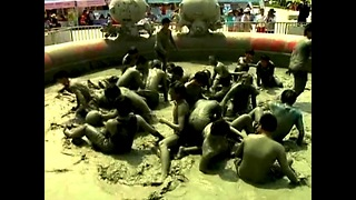 South Korean Mud Festival - Video