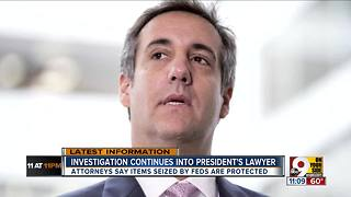 Investigation continues into president's lawyer - Video