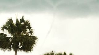 Waterspout Churns Near Panama City Beach - Video