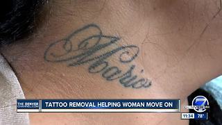 tattoo removal helps domestic abuse survivor move forward - Video