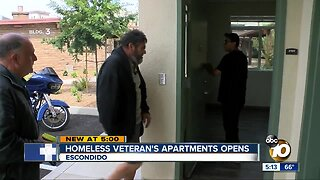 New homeless apartments in Escondido to begin moving veterans in