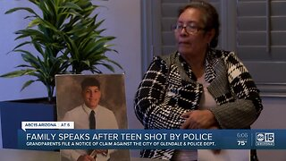 Family speaks after teen shot by police