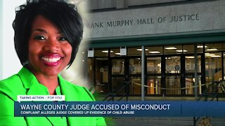 Wayne County judge accused of misconduct connected to child abuse case