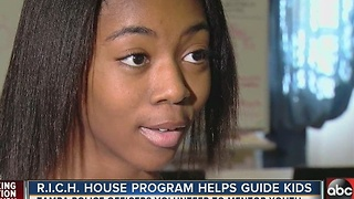 TPD'S R.I.C.H. House transforms at-risk student into mentor success - Video