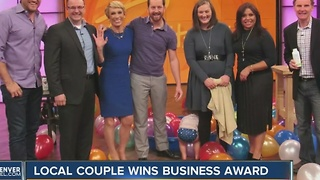 Loveland couple wins business award - Video