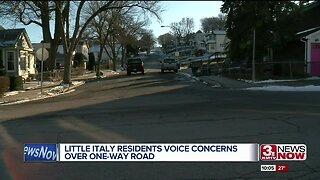 Little Italy residents voice concerns over one-way road