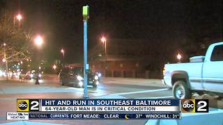 Baltimore City Police searching for hit and run driver - Video