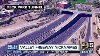 Valley freeways: what's in a name? - Video