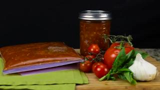 Homemade Tomato Sauce - Video