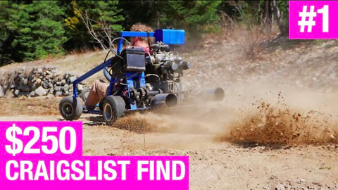 Fixing and repairing a Craigslist go-kart