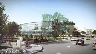 Plans unveiled for a new downtown library in Boise - Video
