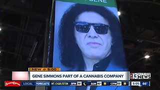 Gene Simmons gets into cannabis industry - Video