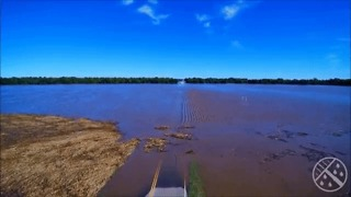 Drone Shows Widespread Flooding in South-Central Kansas - Video