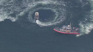 ICYMI: Coast Guard finally stops unmanned boat motoring in circles