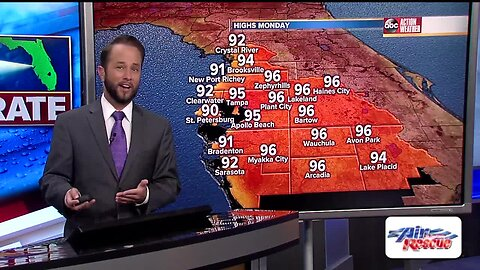 Florida's Most Accurate Forecast with Jason on Saturday, May 26, 2019
