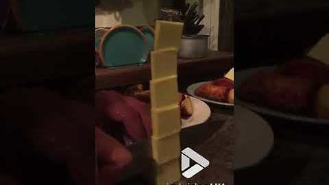 This Guy Stacks Butter Like A Boss