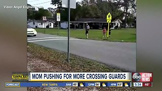 Local mom wants crossing guards for elementary school kids