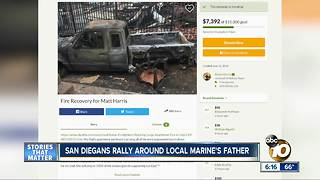 San Diegans rally around local Marine's father
