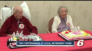 Two centenarians celebrate special birthdays at local retirement home