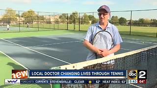 Doctor changing lives through tennis - Video