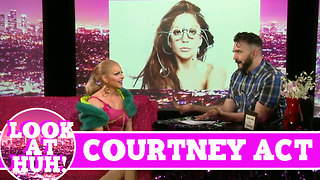 Courtney Act LOOK AT HUH! on Season 2 of Jonny McGovern's Hey Qween! - Video