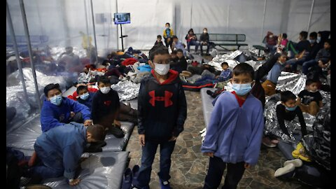 MUST SEE:The horrid conditions on camera that migrants are kept in and more culture war video