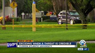 FAU rescheduling graduation after threat - Video