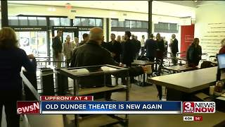 Renovated Dundee Theater offically open - Video
